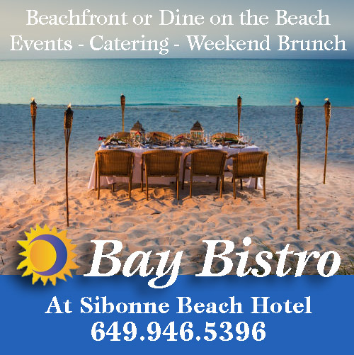 bay bistro beachfront dining grace bay beach providenciales turks caicos islands