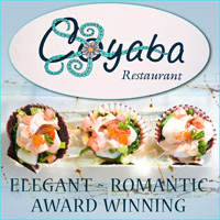coyaba restaurant fine caribbean dining grace bay providenciales turks caicos islands