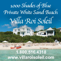 villa roi soleil private beach turtle tail providenciales turks caicos islands