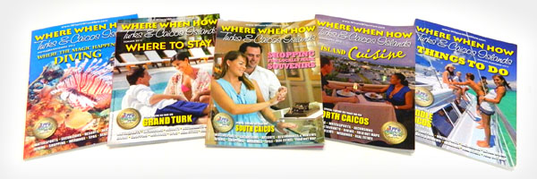 Where When How - Turks & Caicos Islands print magazine.