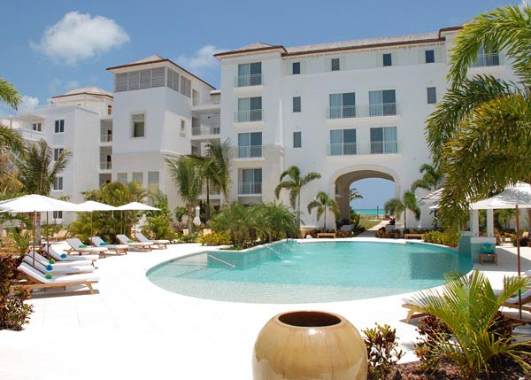 A photograph of The West Bay Club, Grace Bay Beach, Providenciales (Provo), Turks and Caicos Islands