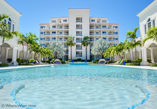 A photograph of The Venetian, Providenciales (Provo), Turks and Caicos Islands.