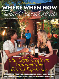 Read our January / February 2011 issue of Where When How - Turks & Caicos Islands magazine!