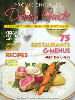 Read our Providenciales Dining Guide and plan your mouth-watering Turks and Caicos dining experience!