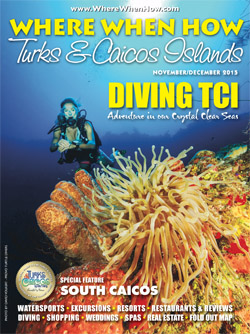 Magazine cover November / December 2015 Where When How - Turks & Caicos Islands