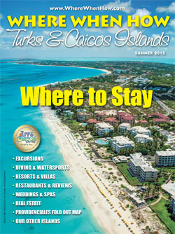 Magazine cover Summer 2015 Where When How - Turks & Caicos Islands
