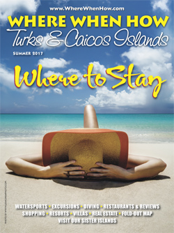 Magazine cover Summer 2017 Where When How - Turks & Caicos Islands