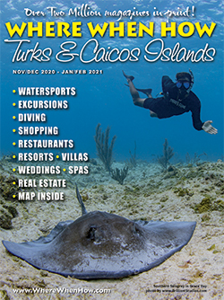 Read our November / December 2020 – January / February 2021 issue of Where When How - Turks & Caicos Islands magazine!