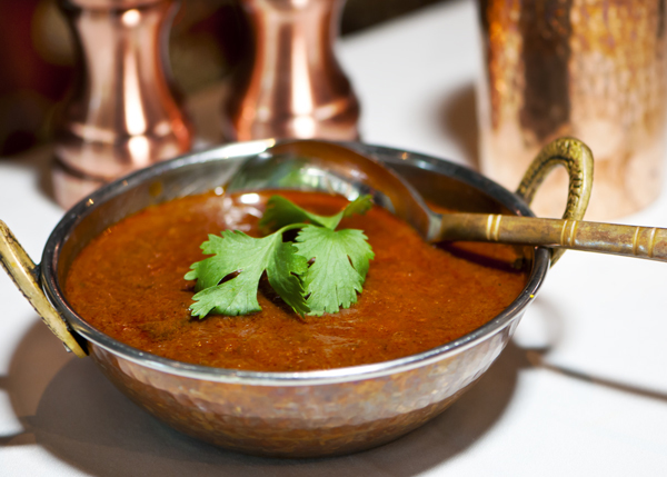 A photograph of Rogan Josh at Garam Masala Indian Restaurant, The Regent Village, Providenciales (Provo), Turks and Caicos Islands.