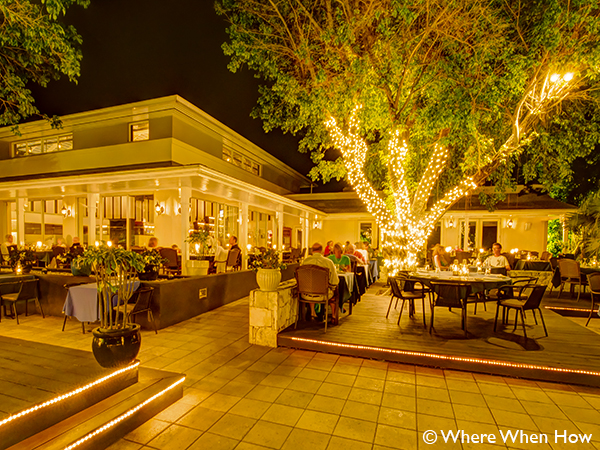 A photograph of Opus Wine Bar Grill located at Ocean Club Plaza, Providenciales (Provo), Turks and Caicos Islands.