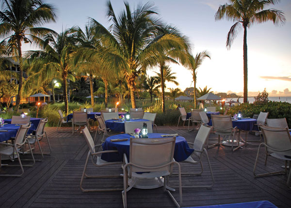 A photograph of Seaside Cafe, Grace Bay, Providenciales (Provo), Turks and Caicos Islands.