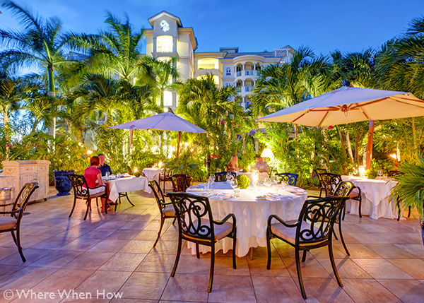 A photograph of Seven Restaurant, Grace Bay, Providenciales (Provo), Turks and Caicos Islands.