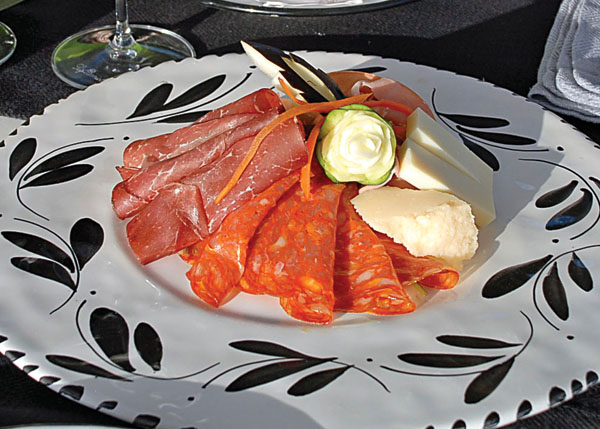 A photograph of Antipasti at Via Veneto, Ports of Call, Grace Bay, Providenciales (Provo), Turks and Caicos Islands.