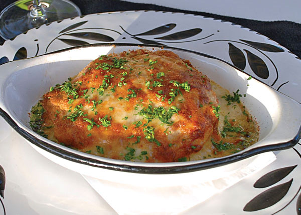 A photograph of Lasagna at Via Veneto, Ports of Call, Grace Bay, Providenciales (Provo), Turks and Caicos Islands.