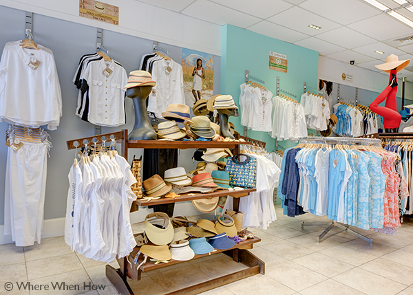 A photograph of L'ete cotton boutique, Providenciales (Provo), Turks and Caicos Islands.
