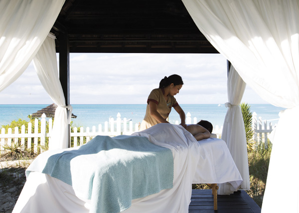 A photograph of Thalasso Spa, Point Grace, Providenciales (Provo), Turks and Caicos Islands.