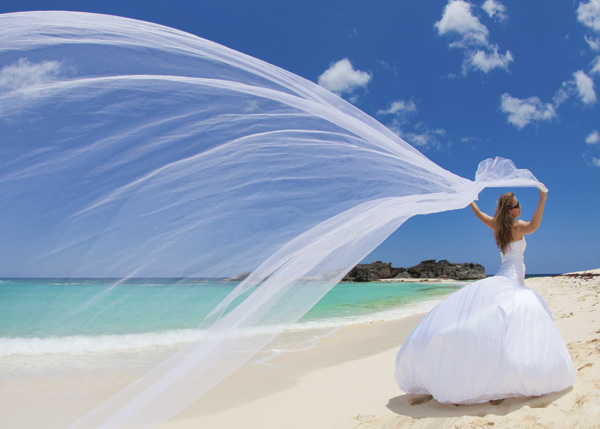 A photograph of weddings, Middle Caicos, Turks and Caicos Islands.
