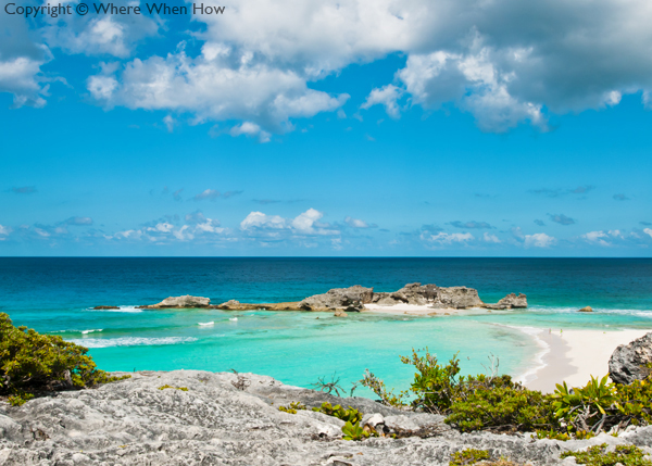 A photograph of Dragon Cay, Middle Caicos, Turks and Caicos Islands, British West Indies