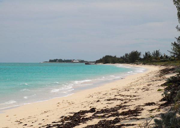 A photograph of Whitby Beach, North Caicos, Turks and Caicos Islands, British West Indies