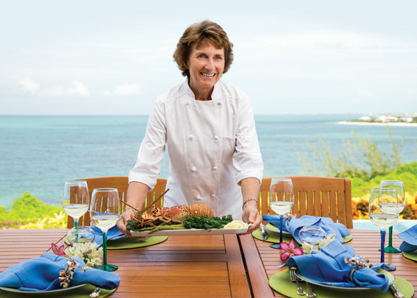 A photograph of the Sea Salt Catering Chef, Grace Bay, Providenciales (Provo), Turks and Caicos Islands.