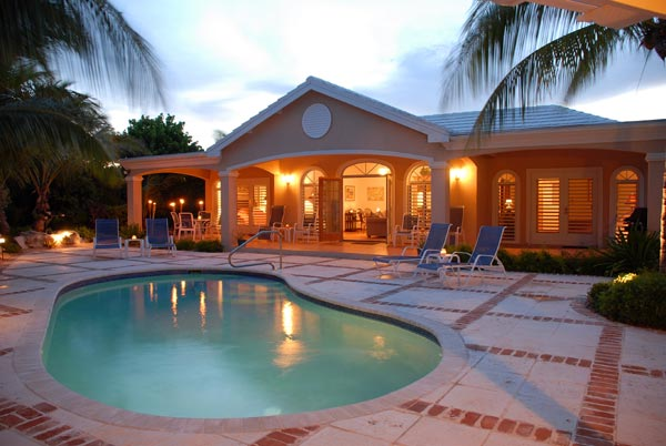 A photograph of Acacia Villa, Providenciales (Provo), Turks and Caicos Islands, British West Indies
