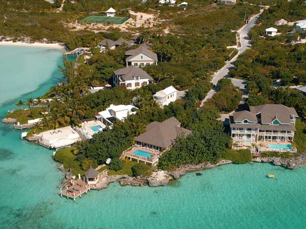 A photograph of Ocean Point Villas, Providenciales (Provo), Turks and Caicos Islands, British West Indies