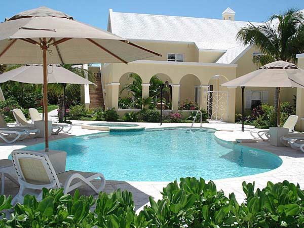 A photograph of the Reef Residences at Grace Bay, Providenciales (Provo), Turks and Caicos Islands, British West Indies