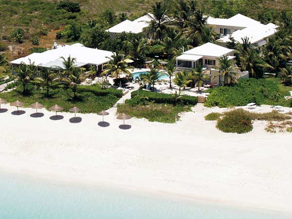 A photograph of the Sibonné Beach Hotel, Grace Bay, Providenciales (Provo), Turks and Caicos Islands, British West Indies