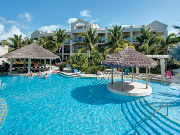 A photograph of the Atrium Resort, Leeward, Providenciales (Provo), Turks and Caicos Islands, British West Indies