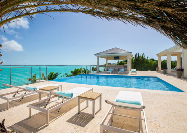 A photograph of Villa Capri, Chalk Sound, Providenciales (Provo), Turks and Caicos Islands, British West Indies