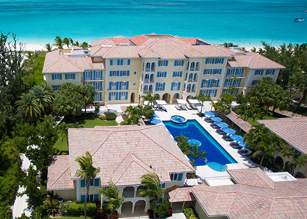 A photograph of Villa Renaissance on Grace Bay, Grace Bay Beach, Providenciales (Provo), Turks and Caicos Islands, British West Indies