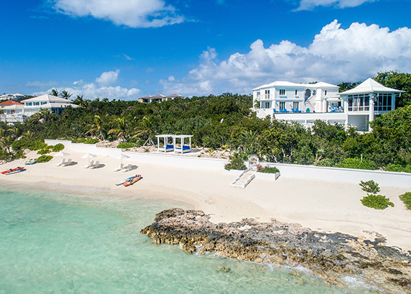 A photograph of Villa Roi Soleil, Providenciales (Provo), Turks and Caicos Islands, British West Indies