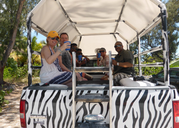 A photograph of TCI Safari Tours, Turks and Caicos Islands, British West Indies