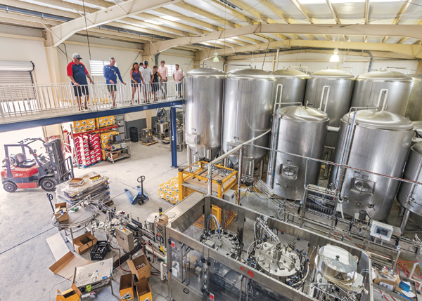 A photograph of Turks Head Brewery, Turks and Caicos Islands, British West Indies