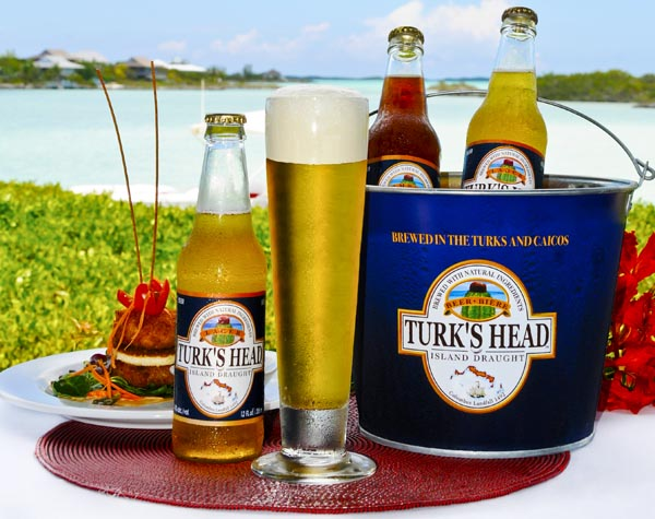 A photograph of Turks Head Beer, Providenciales (Provo), Turks and Caicos Islands