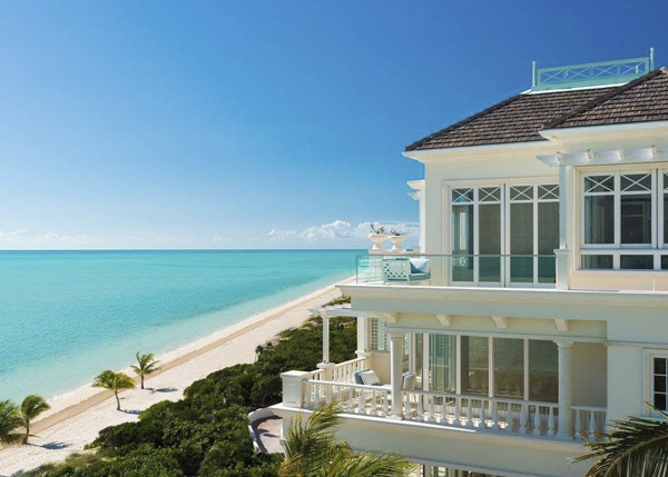 A photograph of the Shore Club, Long Bay, Providenciales (Provo), Turks and Caicos Islands, British West Indies