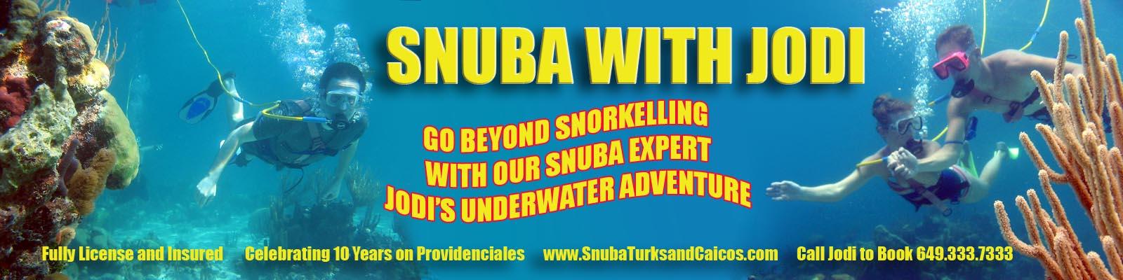snuba turks caicos boat tours snorkle