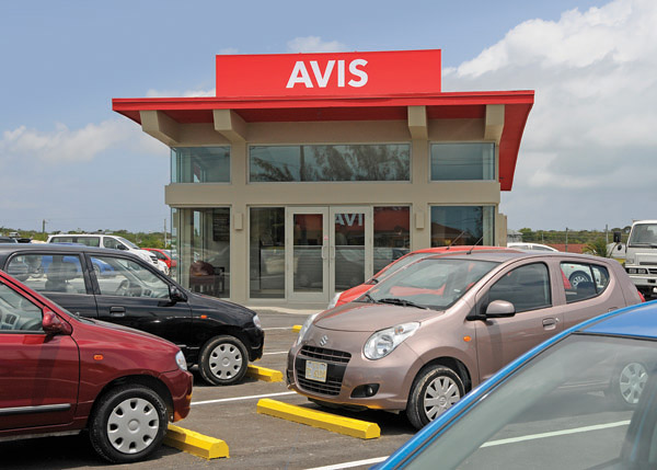 A photograph of Avis Car Rental, Providenciales, Turks and Caicos Islands