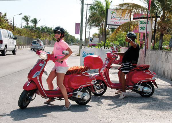 A photograph of Paradise Scooter Rental, Providenciales, Turks and Caicos Islands
