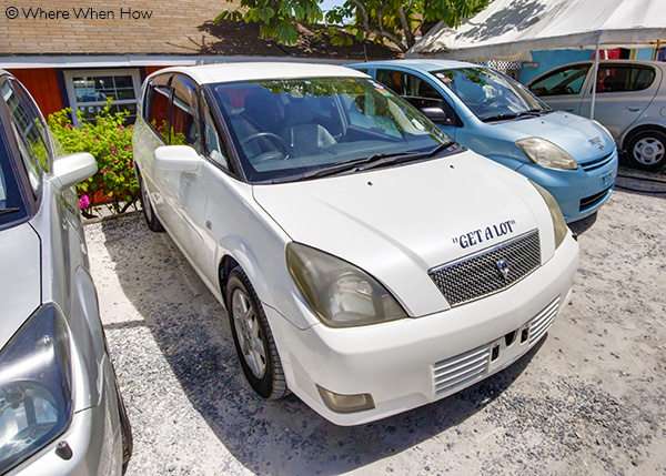 A photograph of Scooter Bobs Car Rental, Providenciales, Turks and Caicos Islands